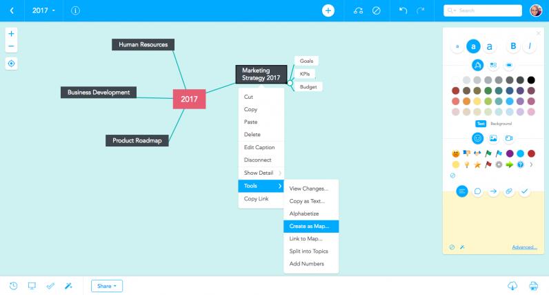 MeisterTip: Create as map