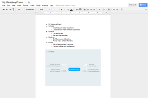MindMeister Add-on for Google Docs