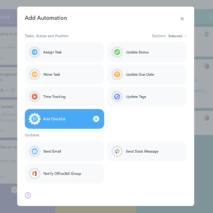 Checklist Automation