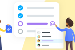 New: Mention People and Attachments in Checklists!