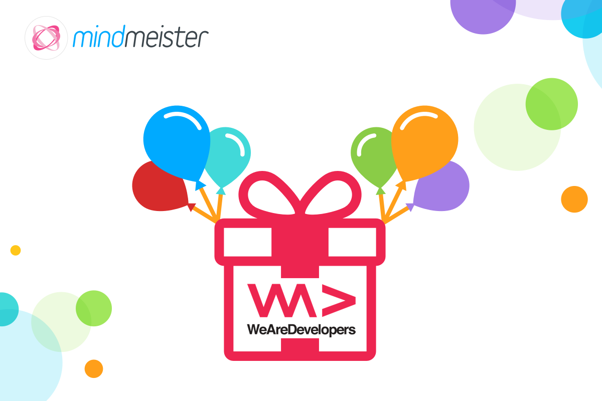 MindMeister Birthday Giveaway We Are Developers 2017