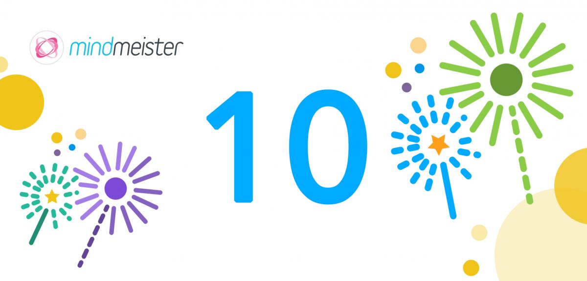MindMeister turns 10! Happy Birthday to Us :)
