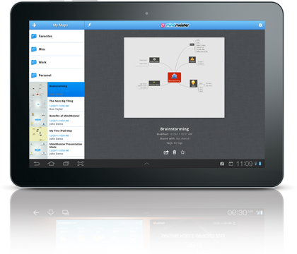 mindmeister launches presentation mode new map templates and much more