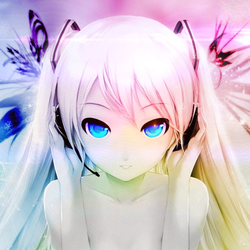 Anime girl vocaloid beautiful by opty face d5zghsf