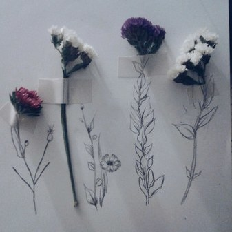 Grunge flowers aesthetic tumblr favim.com 3821113