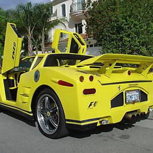 Ferrari modificado