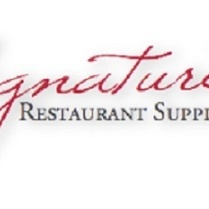 Discount  restaurant equipment supplies   signature restaurant supply inc