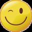 Smiley 4 knipoog fc