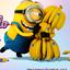 Imagen de minion coqueto para compartir imagenes de los minions con frases de amor