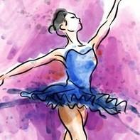 Mano bailarina de ballet pintados 23 2147543525