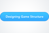 Mind map: Designing Game Structure