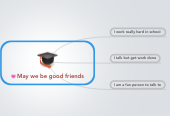 Mind map: May we be good friends