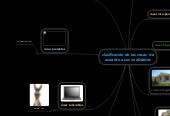 Mind map: clasificación de las cosas  de acuerdo a sus cualidades