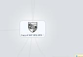 Mind map: Copy of SAP 2014-2015