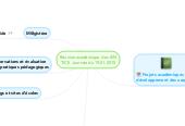 Mind map: Réunion académique  des IENTICE  Journée du 19-01-2015