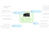 Mind map: Manejo de residuos sólidos - desecho de llantas de caucho
