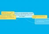 Mind map: DEL CAMPO A LA SOCIEDAD DEL FUTURO(tres enfoques sobre la educación y latecnología )