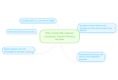 Mind map: Why Choose My Cleaners Liverpools' Carpet Cleaning Services