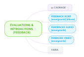 Mind map: FEEDBACK &