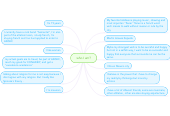 Mind map: who I am?