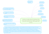 Mind map: A library is a place where all members of the community are welcome to explore information resources, enjoy activities, and broaden their horizons.