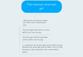 Mind map: The mexican american girl