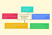 Mind map: Learning and Emotions