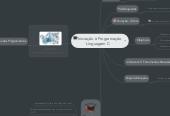 Mind map: Iniciação à Programação  Linguagem C