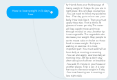 Mind map: How to lose weight in 5 days free
