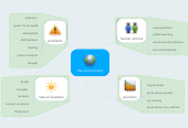 Mind map: the environment