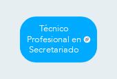 Mind map: TécnicoProfesional enSecretariado