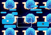 Mind map: LA MEMORIA HUMANA