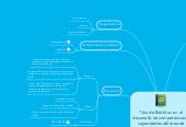 """Mind map: """"Uso de Bubbl.us en el desarrollo de competencias y capacidades del área de Ciencia y Tecnología"""""""