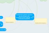 Mind map: Особливості роботи вчителя над розв'язуванням компетентнісних завдань та виконання проектів