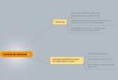 Mind map: BOLETAS DE PRESTAMO