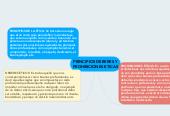 Mind map: PRINCIPIOS DEBERES Y PROHIBICIONES ETICAS
