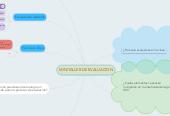 Mind map: MINITALLER DE EVALUACION
