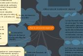 Mind map: ¿Qué es educación especial?