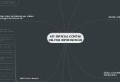 Mind map: LEY ESPECIAL CONTRA DELITOS INFORMATICOS