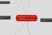 Mind map: INTRODUCCIÓN AL CONCEPTO DE CIENCIA               ¿QUÉ SIGNIFICA INVESTIGAR?