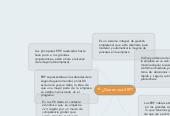 Mind map: ¿Que es una ERP?