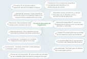 Mind map: Principios Generales deLegislación.