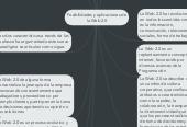 Mind map: Posibilidades y aplicaciones de la Web 2.0