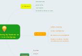 Mind map: Groenbeleving bij kinderen en jongeren in een leefgroep