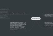 Mind map: Microsoft Visio