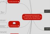 Mind map: PENSAMIENTO EDUCATIVO INSTITUCIONAL-UNIVERSIDAD DE PAMPLONA-Por Richard Oyola