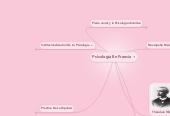 Mind map: Psicología En Francia