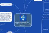 Mind map: Alfabetização de adultos e bibliotecas populares Paulo Feire