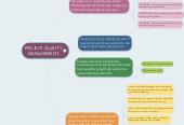 Mind map: PROJECT QUALITY MANAGEMENT