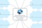 Mind map: Recomendaciones para incrementar los efectos de las TIC, el coaching y Comunidades